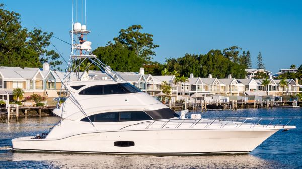 Bertram 70 Enclosed Flybridge