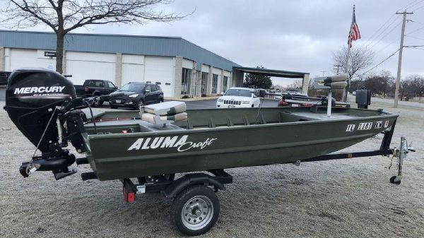 Alumacraft Riveted Jons MV 1448 NCS 15