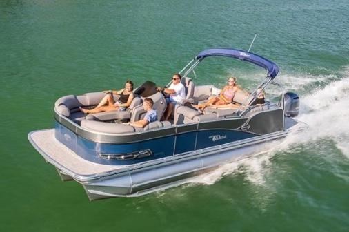 2021 Tahoe Pontoon Cascade Platinum Rear J Lounger 27'