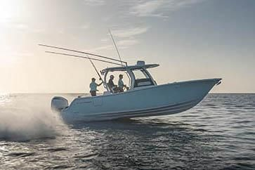Sportsman Open 302 Center Console image