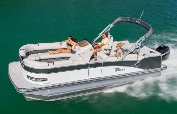2020 Tahoe Pontoon Cascade Platinum Cruise 23'