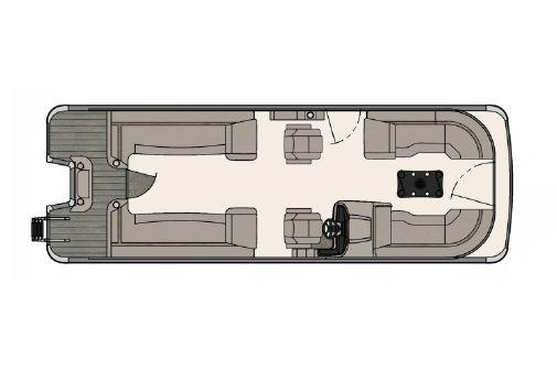 Tahoe Pontoon Cascade Platinum Quad Lounger 25' image