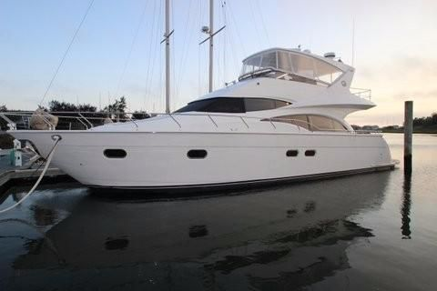 Marquis 59 Pilothouse Port Side