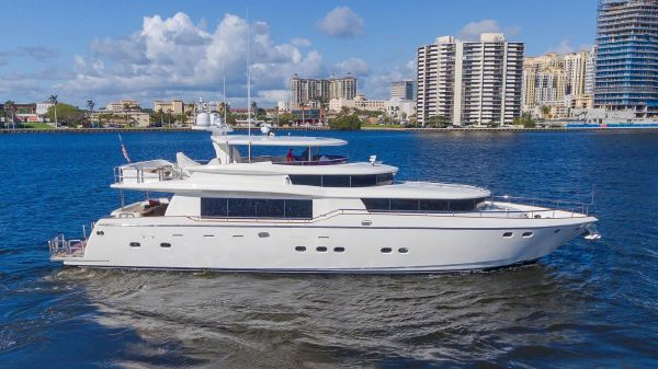Johnson 87' Motor Yacht