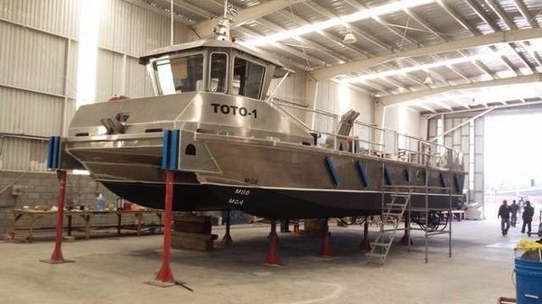 Custom Aluminum 56 Work Boat