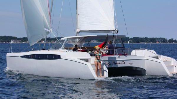 Format 400 Cabrio Format 400 Cabrio under sail