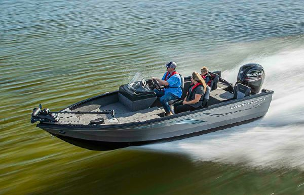 2021 Crestliner 1650 Fish Hawk SC JS