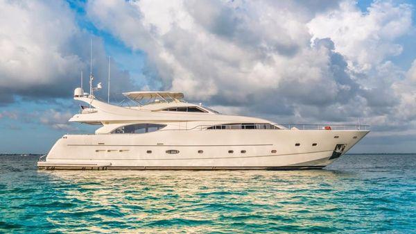 Ferretti Yachts  94' Ferretti Custom Line Motor Yacht PARADISE