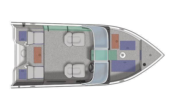 2020 Crestliner 1650 FISH HAWK WT JS