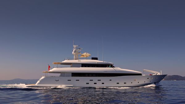 Custom Avangard Expedition Yacht 2014