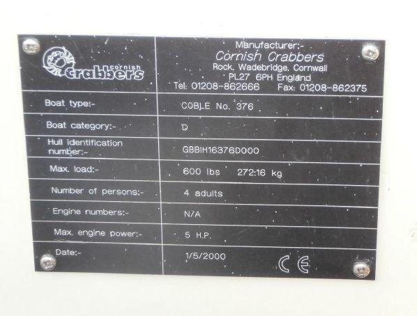 Cornish Crabbers Coble image