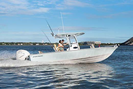 2021 Sportsman Masters 267 Bay Boat