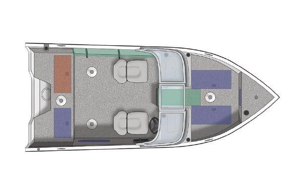 2020 Crestliner 1650 FISH HAWK SE WT