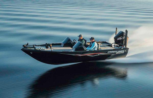 2020 Crestliner 1850 Bass Hawk Pedestal