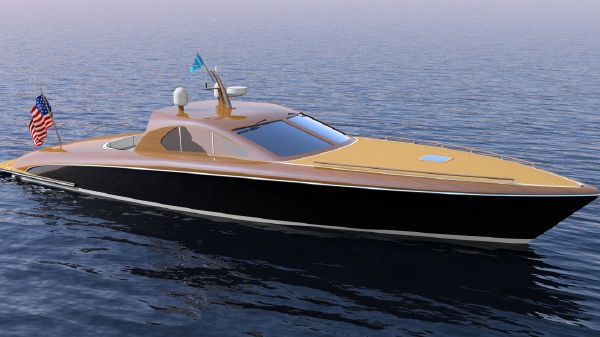 Brooklin Boat Yard 60' Sport Boat