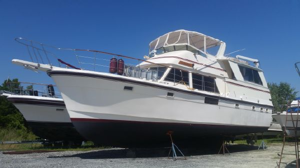 Atlantic Motor Yacht Long Range Trawler