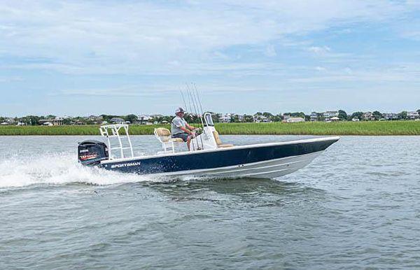 2022 Sportsman Tournament 214 Bay Boat
