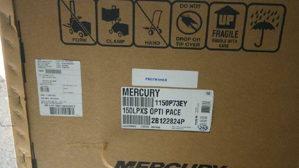 Mercury 150 Pro XS