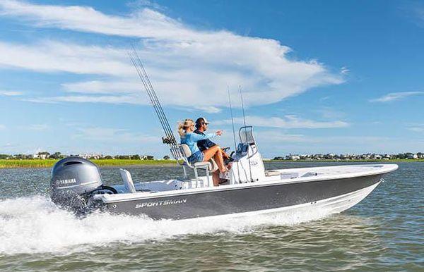 2021 Sportsman Tournament 214 SBX Bay Boat