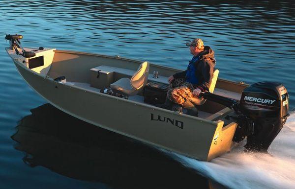 2018 Lund 1600 Alaskan Tiller