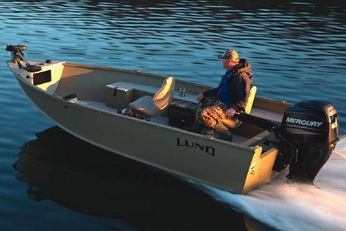2018 Lund 1600 Alaskan Tiller - M-W Marine