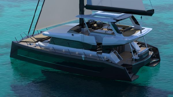 Catamaran Moon Yacht 60