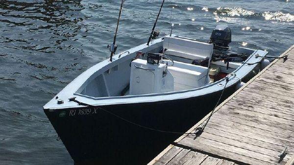 Custom Old Wharf Dory CC Skiff