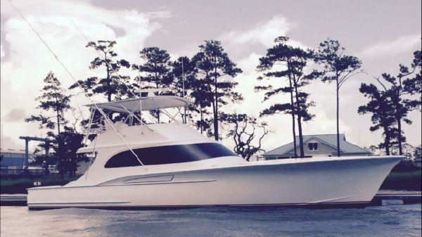 Jamie Chadwick Boats Custom Carolina Sport Fishing Convertible