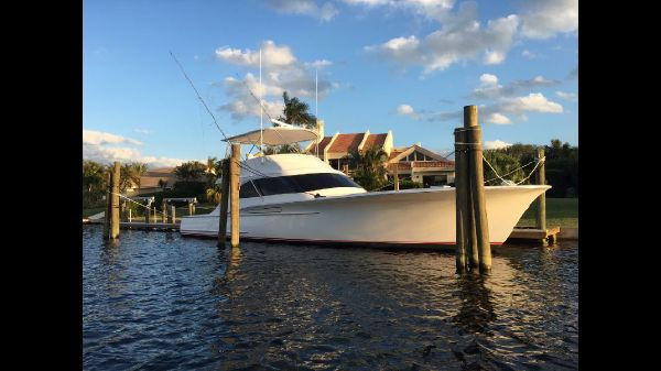 Jamie Chadwick Boats Custom Carolina Sport Fishing Convertible