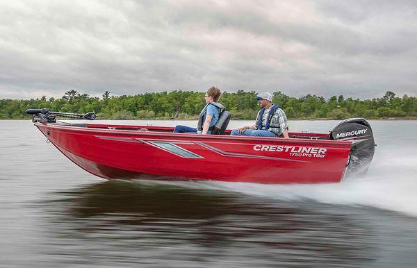 2021 Crestliner 1750 Pro Tiller