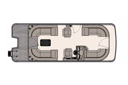 Tahoe Pontoon LTZ Quad Lounger 24' image
