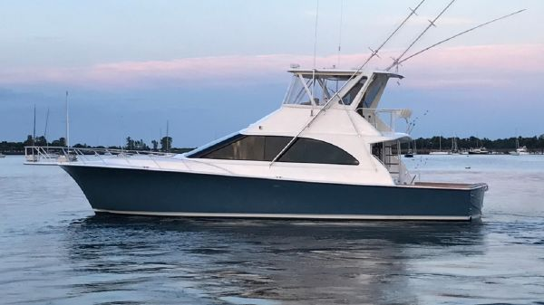 Ocean Yachts 48 Super Sport Port Side