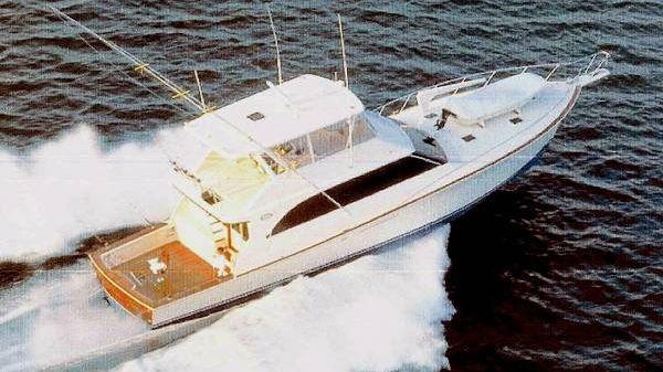 Ocean Yachts Open Bridge Super Sport Running Shot