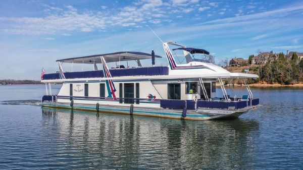 Custom Norris Yachts 85x18 Houseboat