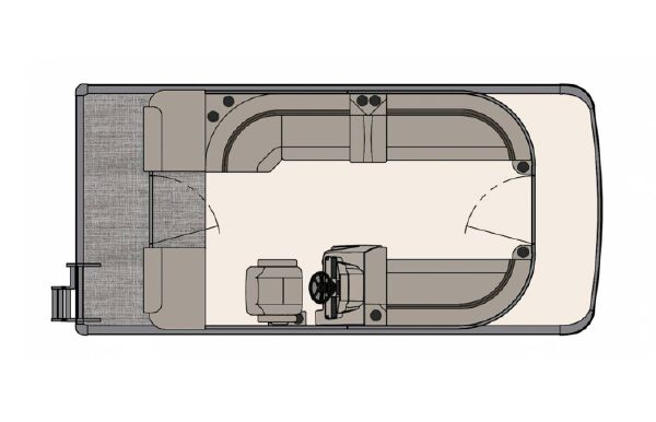 2020 Tahoe Pontoon GT Cruise II 19'