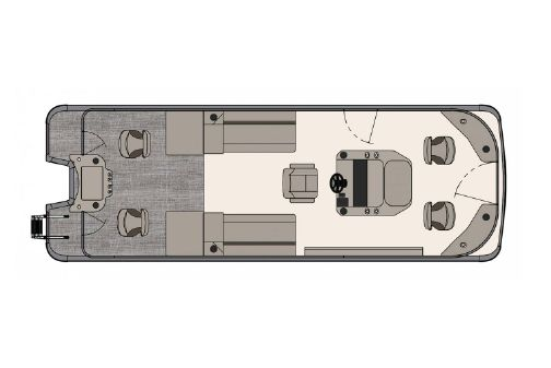 Tahoe Pontoon GT Center Console Fish 25' image