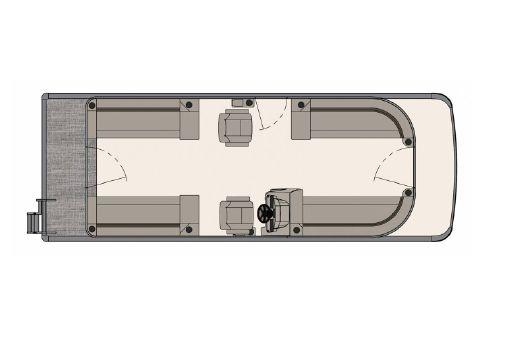 Tahoe Pontoon GT Quad Lounger 25' image