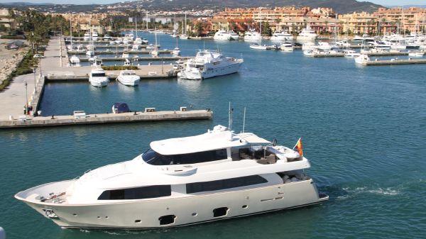 Ferretti Yachts Custom Line 2600 Navetta Main photo
