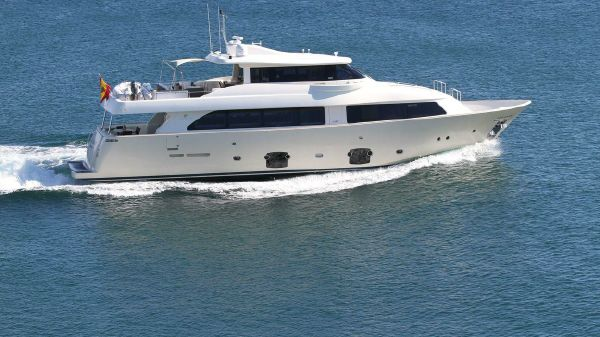 Ferretti Yachts Custom Line 2600 Navetta Profile starboard