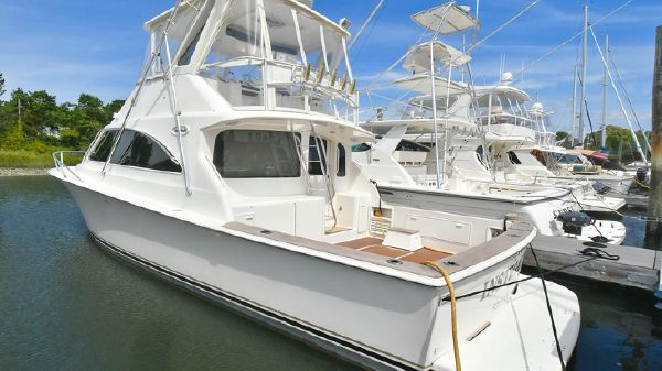 Ocean Yachts 40 Super Sport Port Side