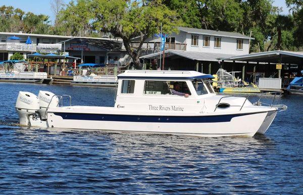 2021 C-Dory 25' Tomcat Sport Catamaran