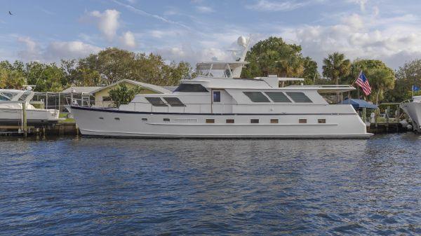 Broward Raised Pilothouse Motor Yacht Patience