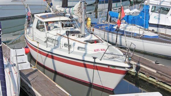 LM 30 pilothouse motor sailer