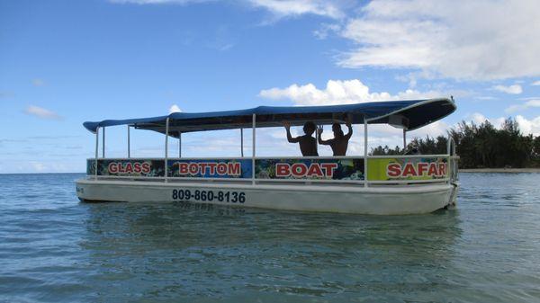 DELHI MFG. OF LOUISIANA Glass Bottom Tour Boats