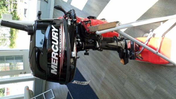 Mercury 6 hp FourStroke