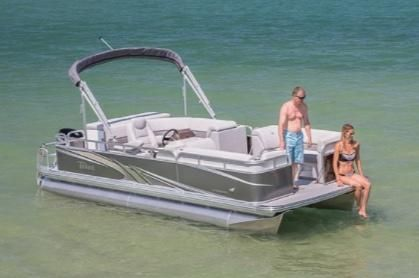 2020 Tahoe Pontoon Sport Cruise 18'