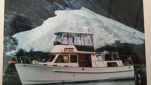 Monk 36 Trawler