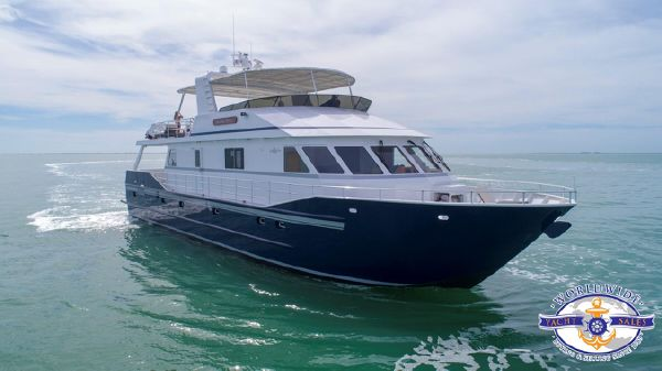 Custom Flybridge Motoryacht