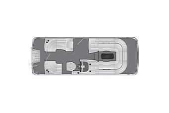 2021 Bennington R Bowrider 22 Quad Bench
