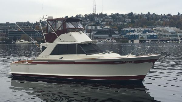 Chris-Craft 422 Commander Starboard Profile